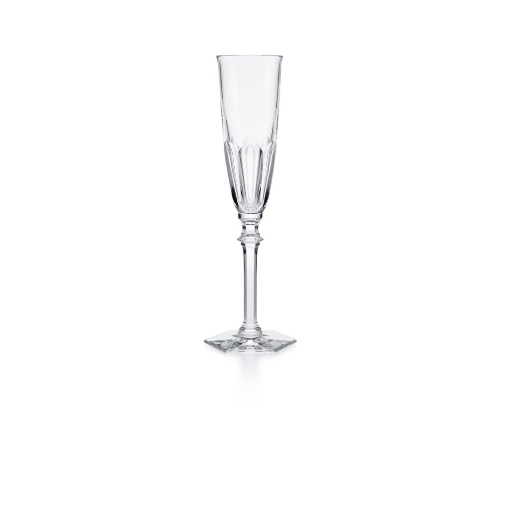 flute a champagne cristal baccarat