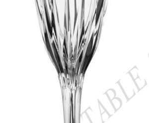 flute a champagne cristal baccarat