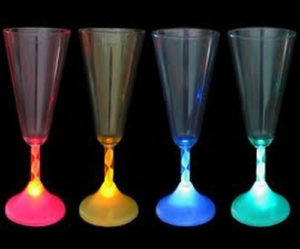 flute a champagne lumineuse