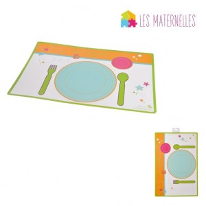 set de table couverts maternelle