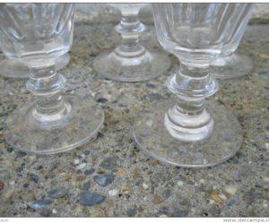 verre a pied ancien