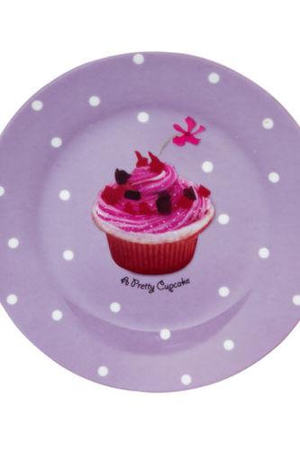 Visuel assiette a dessert decor macaron vaisselle maison - Decoration assiette dessert ...