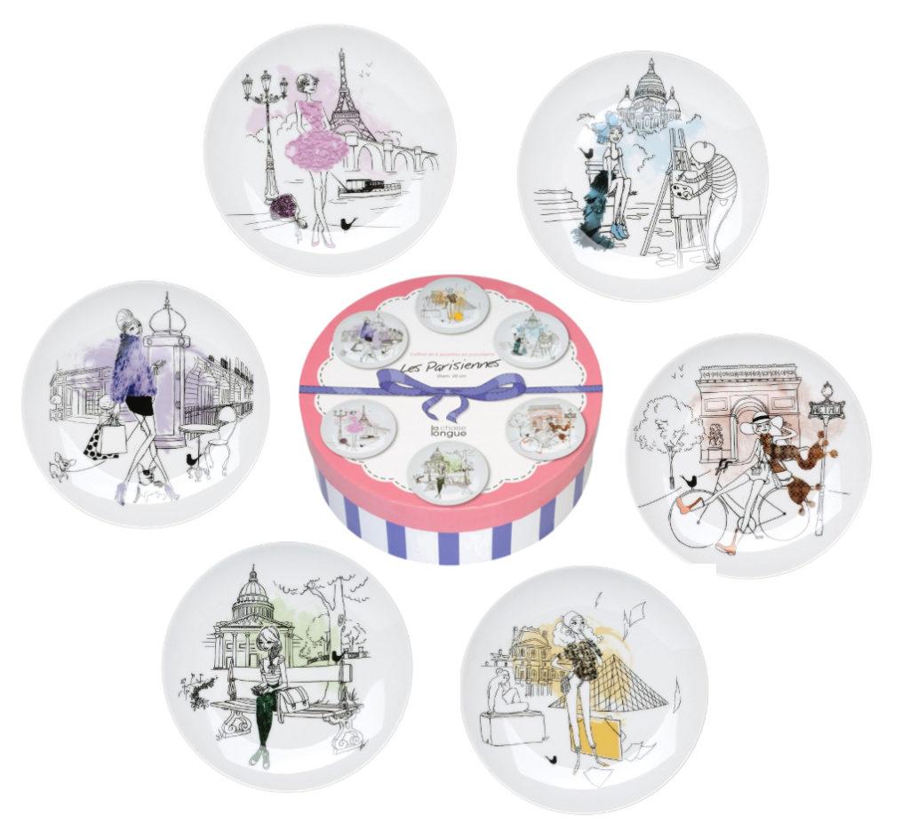 Avis Vaisselle Assiettes Dessert Maison Parisiennes A Les 9eE2YbDWIH