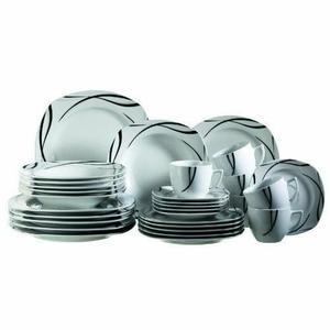 ambiance service de table 30 pieces pas cher vaisselle. Black Bedroom Furniture Sets. Home Design Ideas
