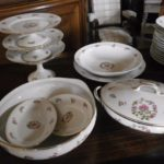 service de table ancien porcelaine