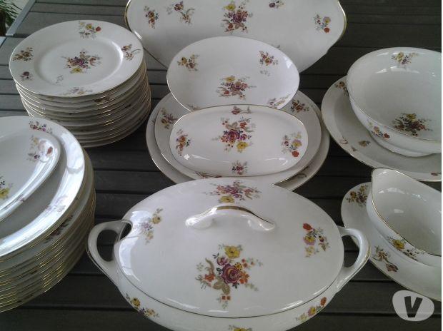 visuel service de table ancien porcelaine vaisselle maison. Black Bedroom Furniture Sets. Home Design Ideas