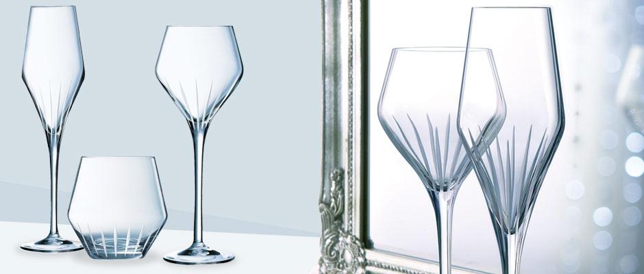 service de table cristal d 39 arques. Black Bedroom Furniture Sets. Home Design Ideas