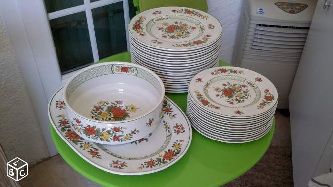 service de table villeroy et boch summerday