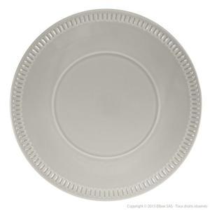 assiette plate sans rebord