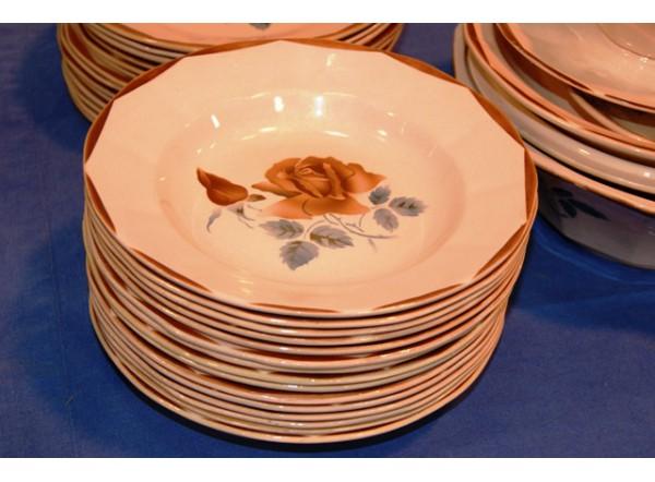 Service de table sarreguemines digoin - Carrefour vaisselle de table ...