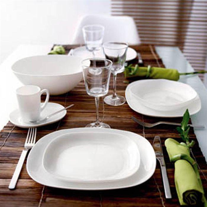 ambiance service de table luminarc zing vaisselle maison. Black Bedroom Furniture Sets. Home Design Ideas