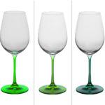 verre a pied vert