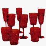 verre a vin couleur rouge