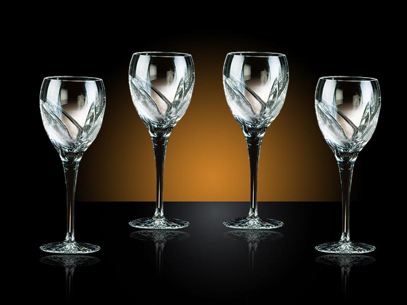 ambiance verre a vin cristal vaisselle maison