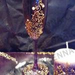flute a champagne decoree