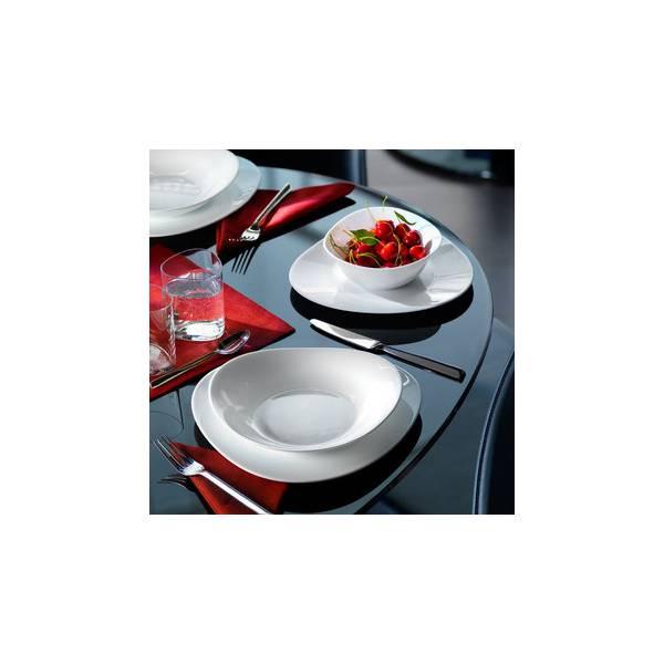 Service de table 19 pieces en opal verre triade for Service de table en verre