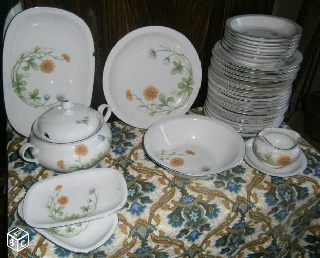 Service de table bareuther waldsassen vaisselle maison - Carrefour vaisselle de table ...