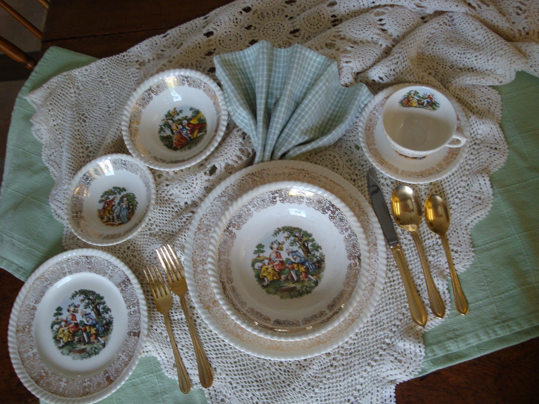 Photo service de table romeo et juliette - Vaisselle Maison 2e1721beec0