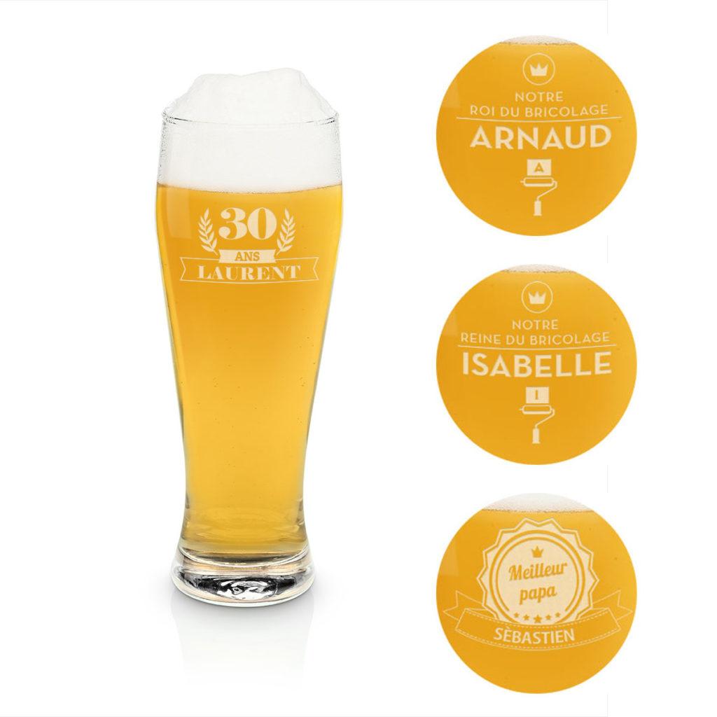 verre a biere 2 litres