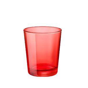 verre a eau rouge