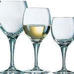 verre a vin et eau