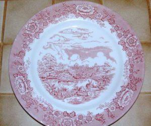 assiette plate anglais
