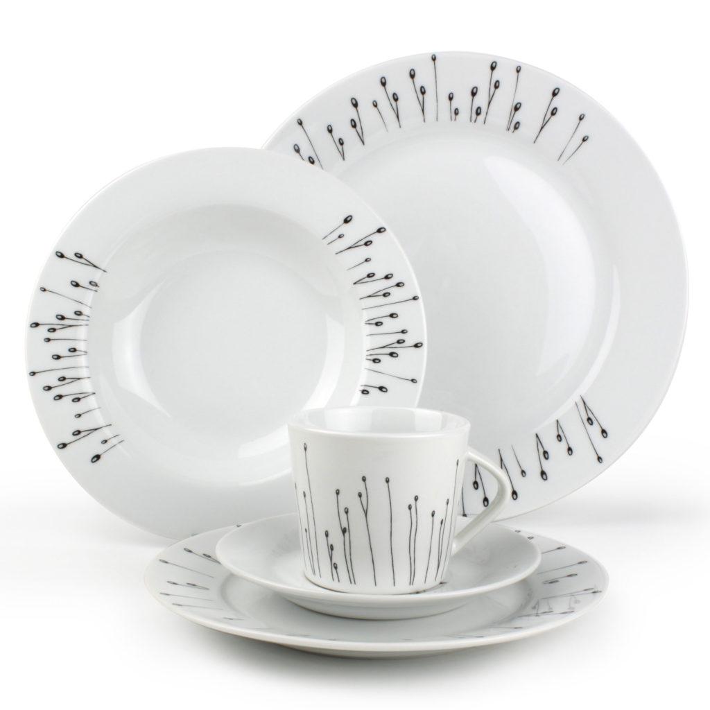exemple service de table 30 pieces en porcelaine - Vaisselle Maison ec4cf134321
