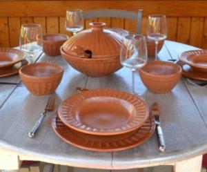 service de table complet oriental