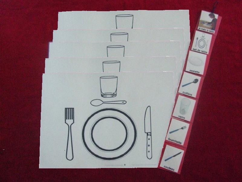 set couverts de table