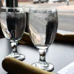 verre a eau restaurant
