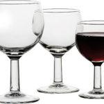 verre a vin ballon rouge