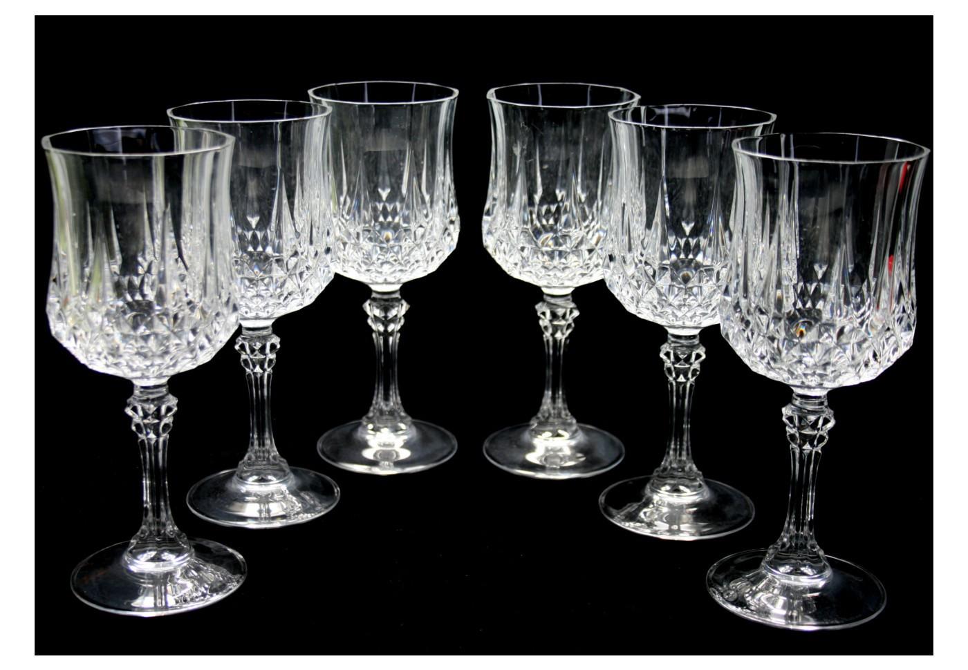 Verres Longchamp Cristal D Arques