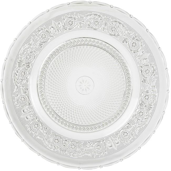 visuel assiette creuse transparente - vaisselle maison