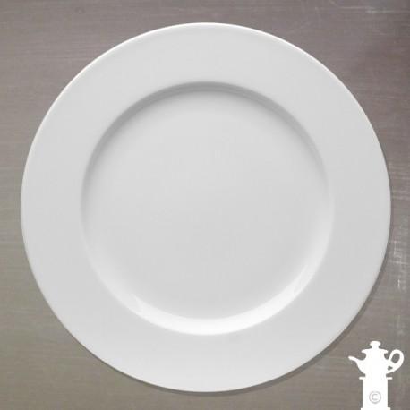 Assiette Plate Blanche Porcelaine