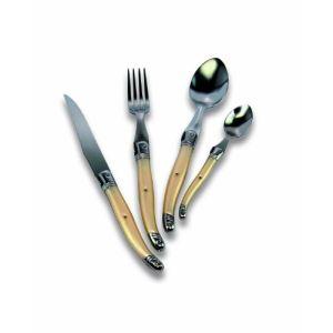 menagere laguiole 24 pieces domaine en inox forge