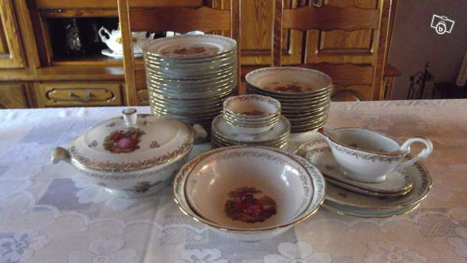 service de table fragonard porcelaine
