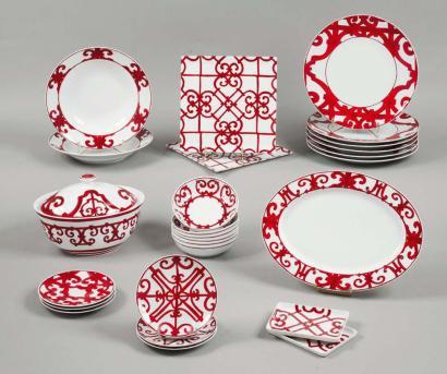 c1c25268443e ambiance service de table hermes - Vaisselle Maison