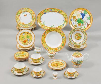 visuel service de table hermes - Vaisselle Maison 39154afad10