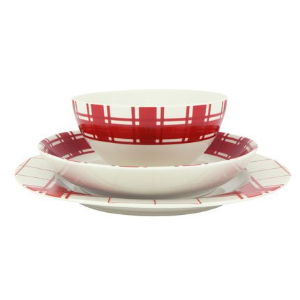 achat service de table torchon rouge super u vaisselle. Black Bedroom Furniture Sets. Home Design Ideas