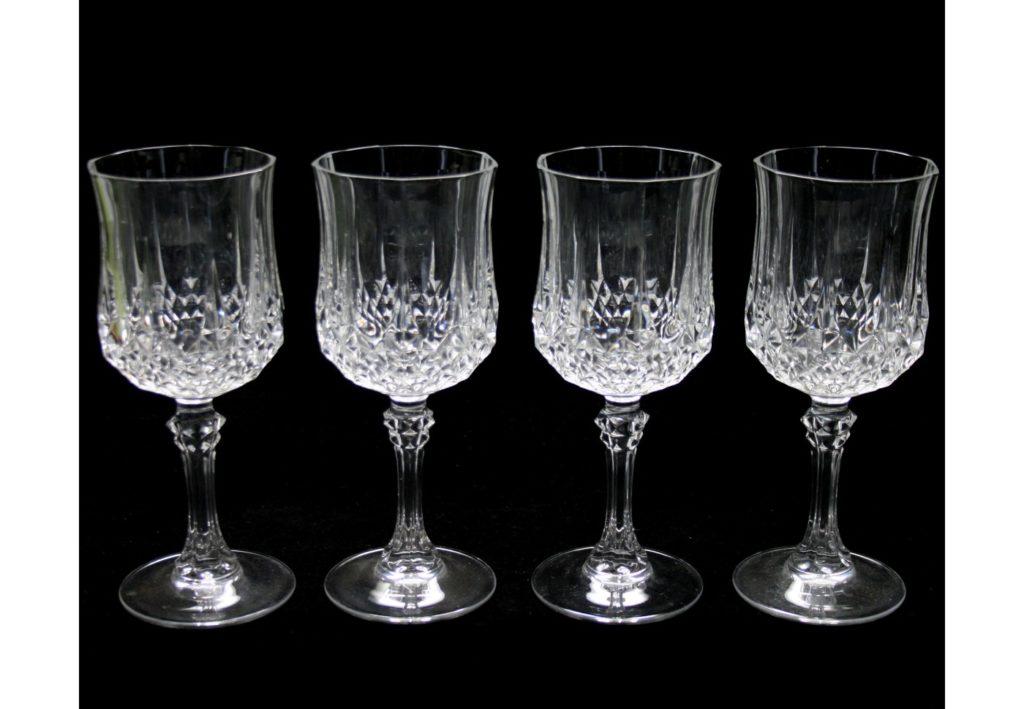 Verre a vin cristal d 39 arques vaisselle maison - Verres cristal d arques longchamp ...