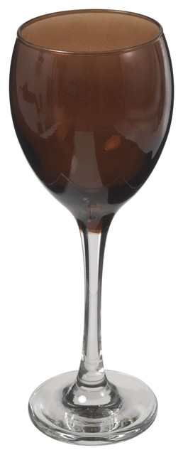 verre a vin fume