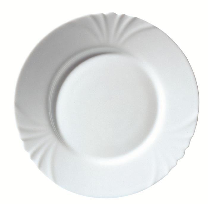 Assiettes plates intermarche - Lot vaisselle pas cher ...