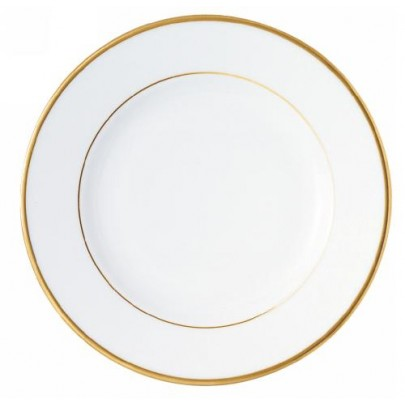 Assiettes plates intermarche - Assiette de presentation doree ...