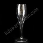 flute a champagne personnalisee 3d