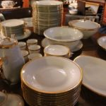 service de table en porcelaine de limoges