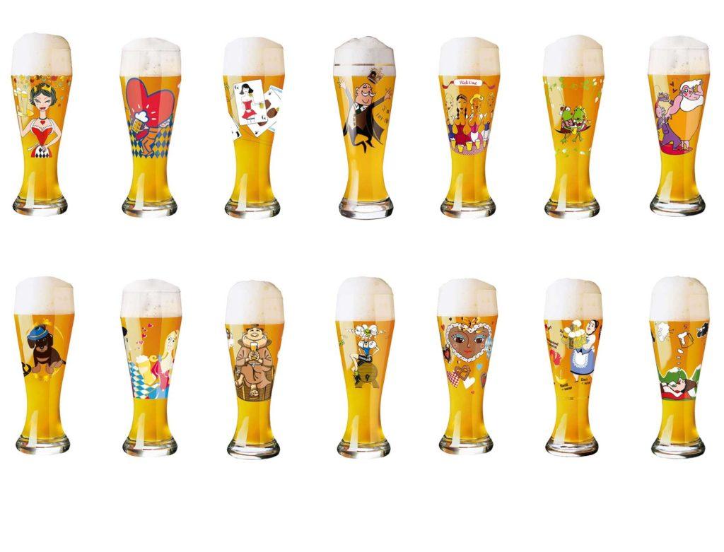 Visuel verre a biere marque vaisselle maison - Coffret verre a biere ...