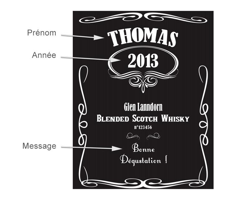 Verre A Whisky Jack Daniels Personnalise - Vaisselle Maison