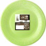 assiette plate carrefour home
