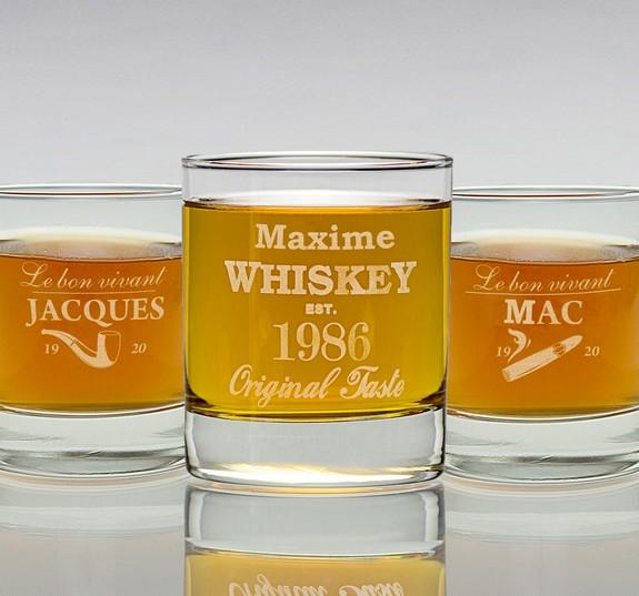 Superbe Visuel Verre A Whisky Personnalise. «