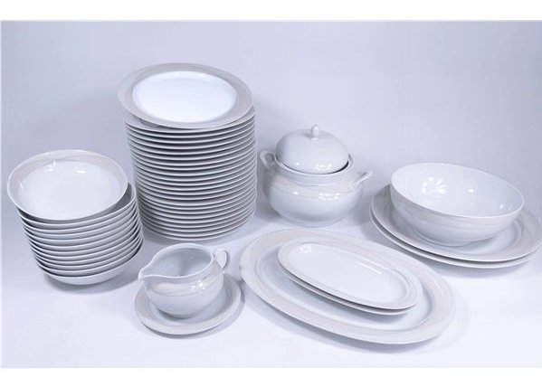 Service de table 12 personnes pas cher vaisselle maison - Vaisselle de table pas cher ...